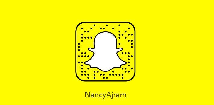 حساب السناب شات المغنية نانسي عجرم